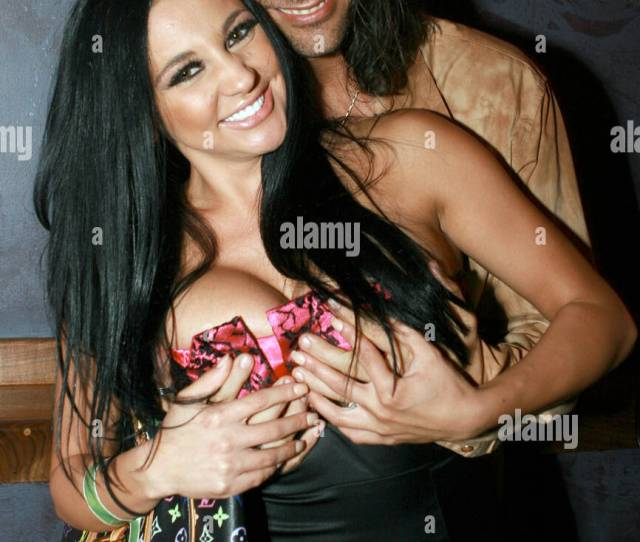 Audrey Bitoni And Nick Manning At Vice Nightclub Celebrating James Bartholets Birthday Hollywood California