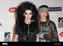 Bill Kaulitz And Tom Of Tokio Hotel Mtv Europe