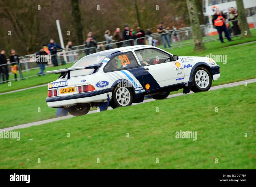 medium resolution of 1987 ford sierra cosworth jimmy mcrae race retro stoneleigh park