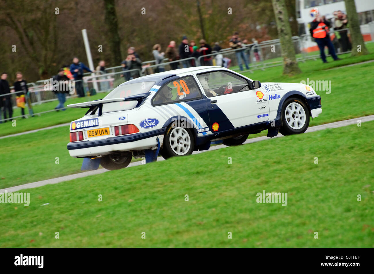hight resolution of 1987 ford sierra cosworth jimmy mcrae race retro stoneleigh park