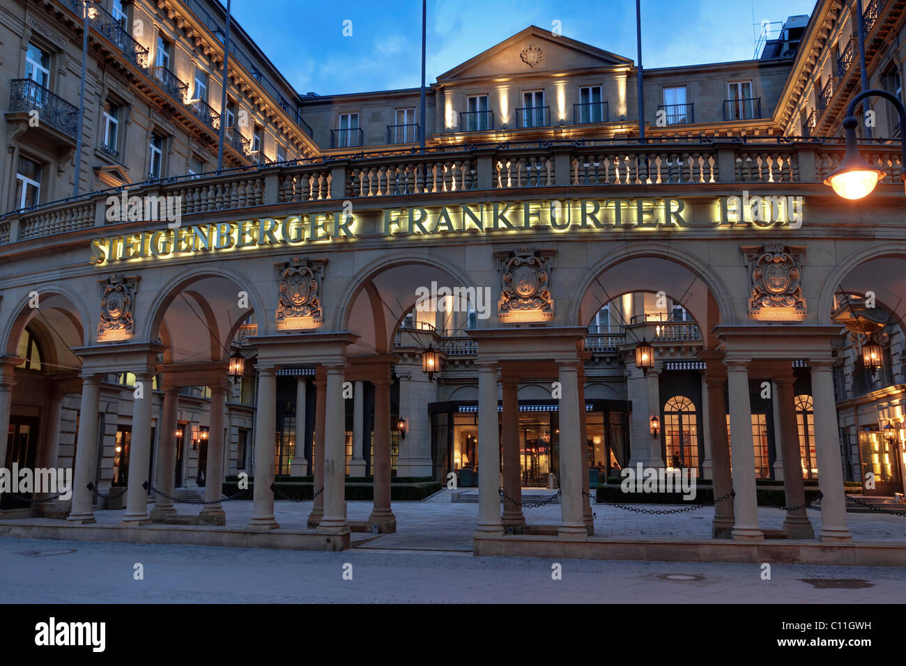 Steigenberger Frankfurter Hof Luxury Hotel Kaiserstrasse