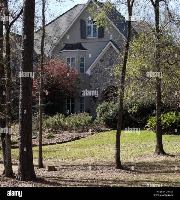 Britney Spears' Home 'serentiy' Kentwood Louisiana - 03.03.09 Stock 35223050 Alamy