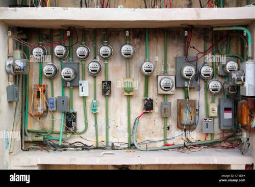 small resolution of dangerous electric meter messy faulty electrical wiring installation
