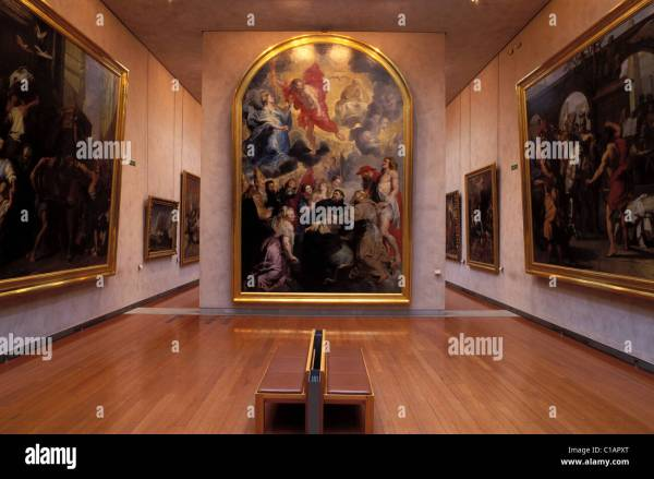 France Rhone Lyon Museum Of Fine Art Painting Xviith Century Stock Royalty Free