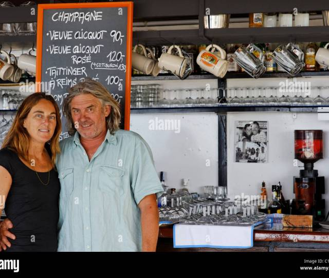 Owners Tiburon Beach Club Playa Lletas Formentera Balearic Islands Spain Europe