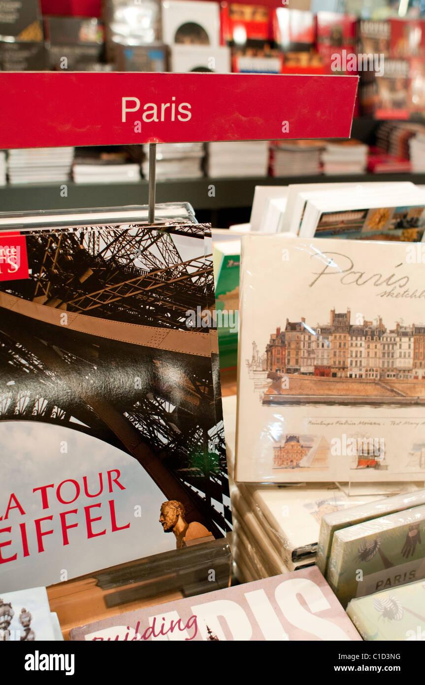 Louve Gift Shop : louve, Bookstore, Inside, Louvre,, Paris,, France, Stock, Photo, Alamy