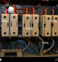 electricity mains fuse old type ceramic domestic connectors fuse board stock image [ 1300 x 1117 Pixel ]