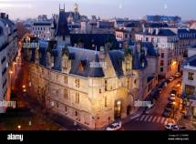 Le Marais District Paris France