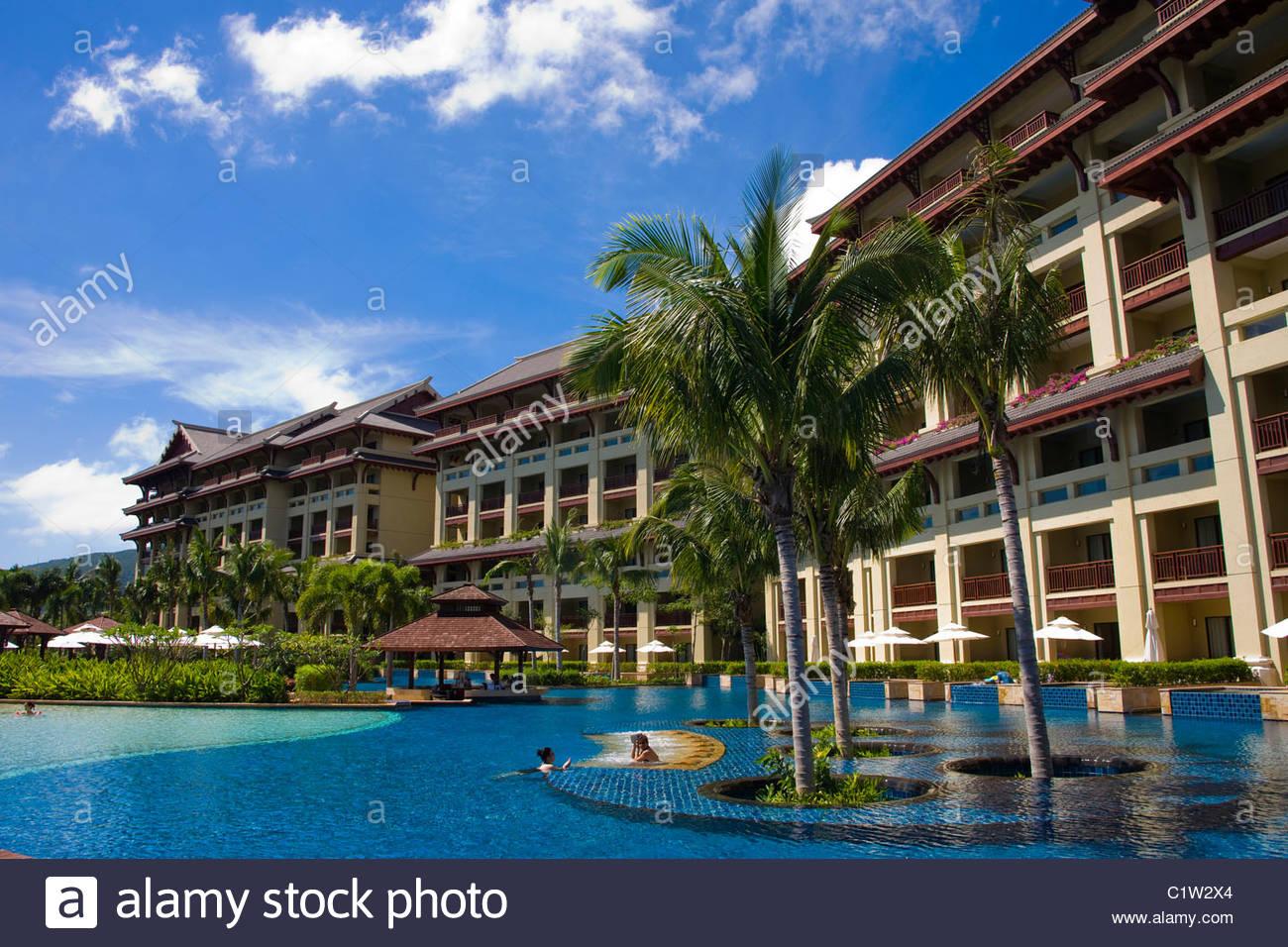 Ritz Carlton Sanya Jinmao Hotel Yalong Bay Hainan Island