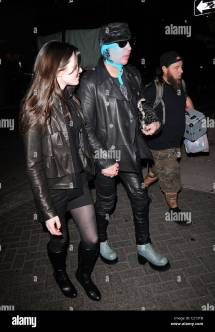 Marilyn Manson And Isani Griffith Arrive