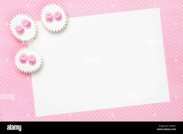 Blank Baby Shower Invite Stock 35746173 - Alamy