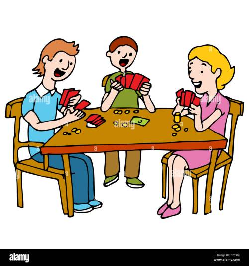 small resolution of an image of a people playing a poker card game at a table stock