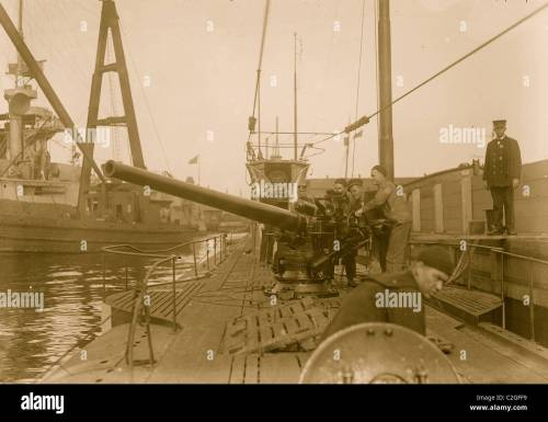 small resolution of german u boat at navy yd stock image