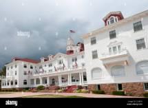 Stanley Hotel Estes Park in 1909