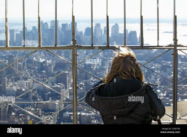 New York City Empire State Building Observation Deck