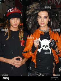 Tom Kaulitz And Bill Of German Band Tokio