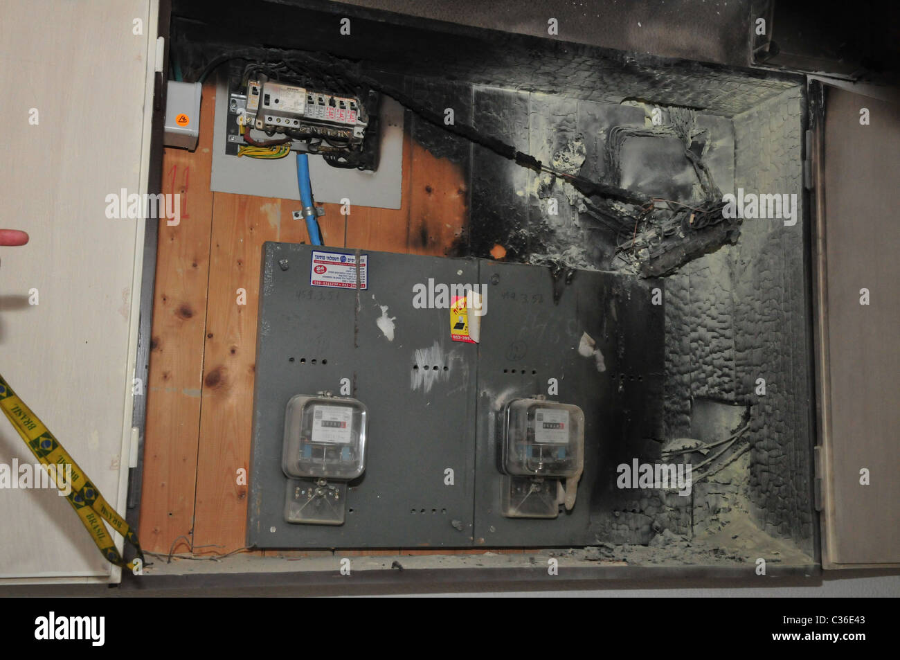 hight resolution of fuse box fire electrical wiring diagrams fire code breaker box a fire broke out in a