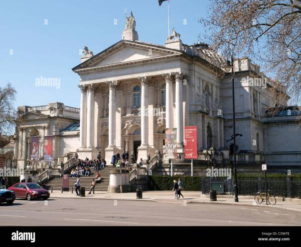 Tate Britain Art British 1500 Present Stock Royalty Free