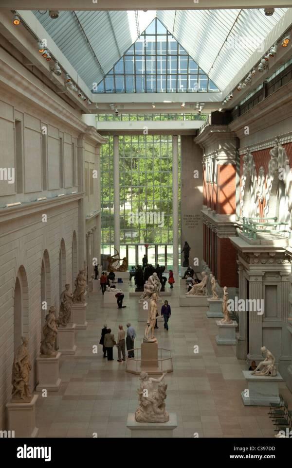 Metropolitan Museum Of Art Aerial Stock &