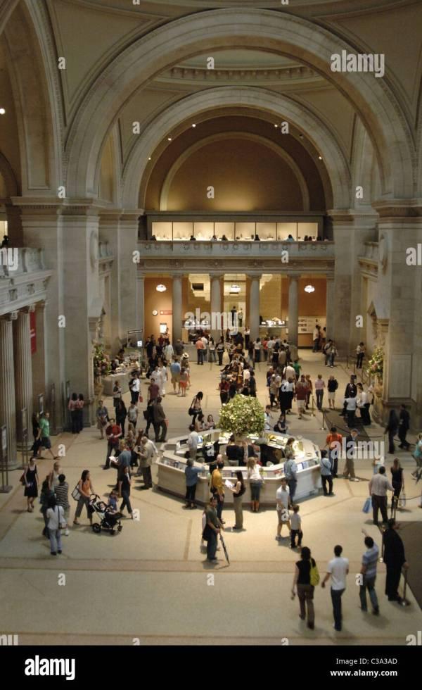 Metropolitan Museum Of Art. Interior View. York