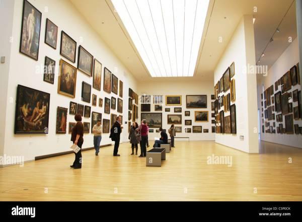 Statens Museum Kunst National Of Denmark Stock Royalty Free
