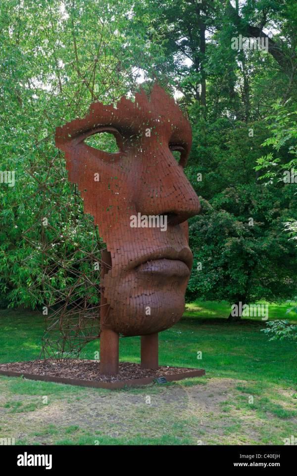 Contemporary Sculpture Garden Burghley House. Modern