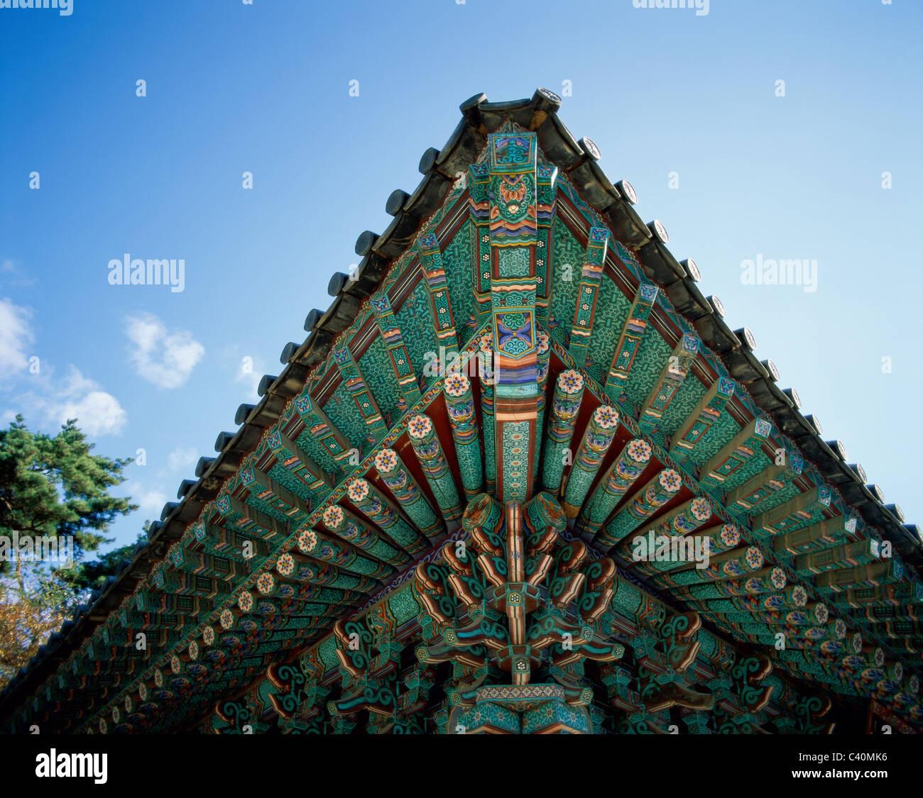 Asia Holiday Korea Kyongju Landmark Pulguksa South Korea Stock Photo Alamy