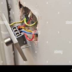 Dimmer Switch Wiring Diagram Uk Gate Photocell A Faulty House Light Pulled Away From Wall