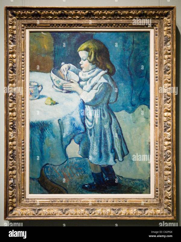 Le Gourmet by Pablo Picasso