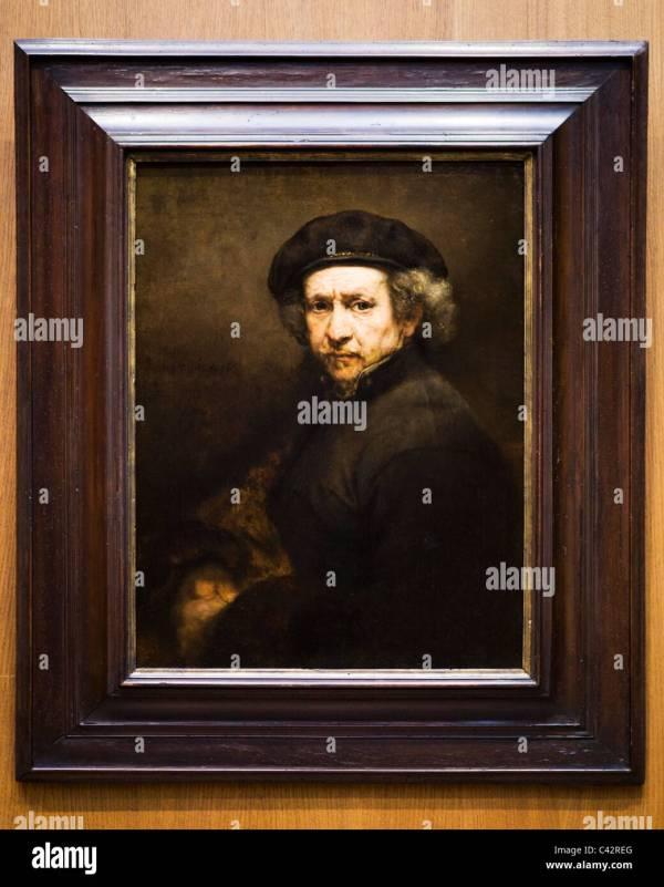 """""""-portrait"""" Rembrandt Van Rijn 1659 - Smithsonian"""