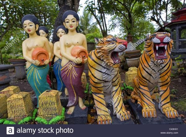 Bali Tiger Stock & - Alamy
