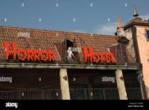 Horror Hotel Brighton Pier Stock &
