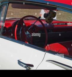 steering wheel of 59 chevrolet impala [ 1300 x 960 Pixel ]