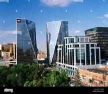 Canada Saskatchewan Regina Glass Skyscrapers In