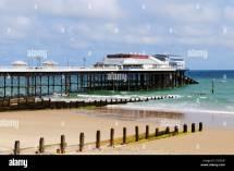 Cromer Pier Norfolk England Uk Stockfoto Lizenzfreies