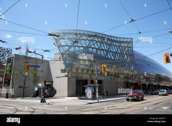 Art Of Ontario With Frank Gehry Facade In