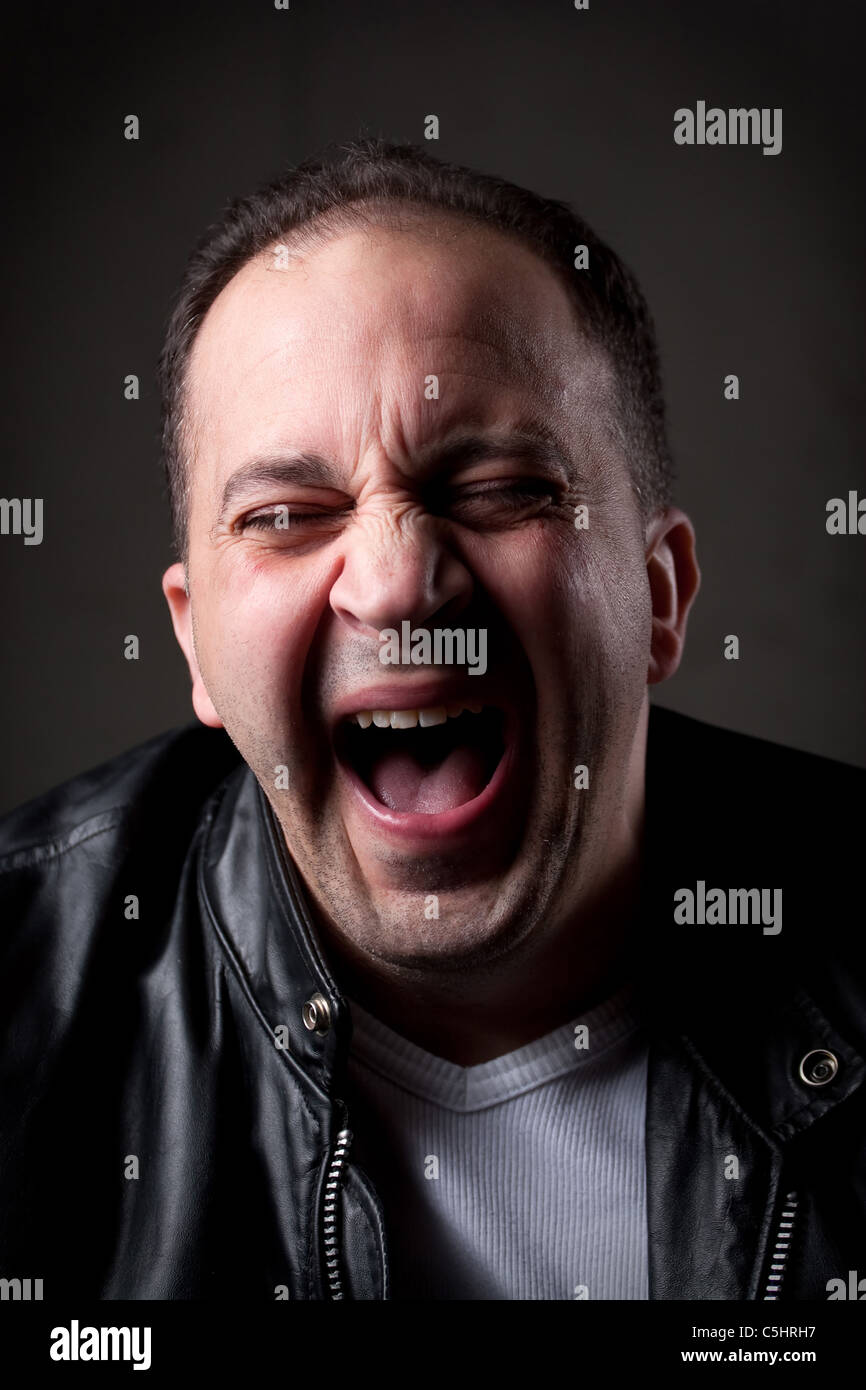 Image Of Laughing Hysterically : image, laughing, hysterically, Laughing, Hysterically, Resolution, Stock, Photography, Images, Alamy
