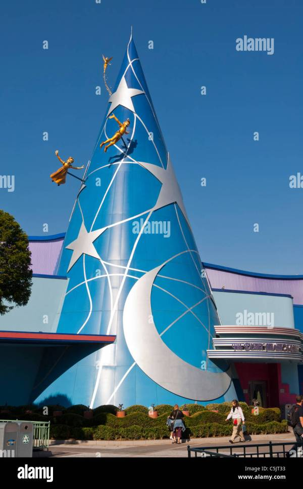 Art Of Disney Animation Walt Studios Park Stock Royalty Free