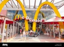 Mcdonald' Restaurant In Disney Village Disneyland