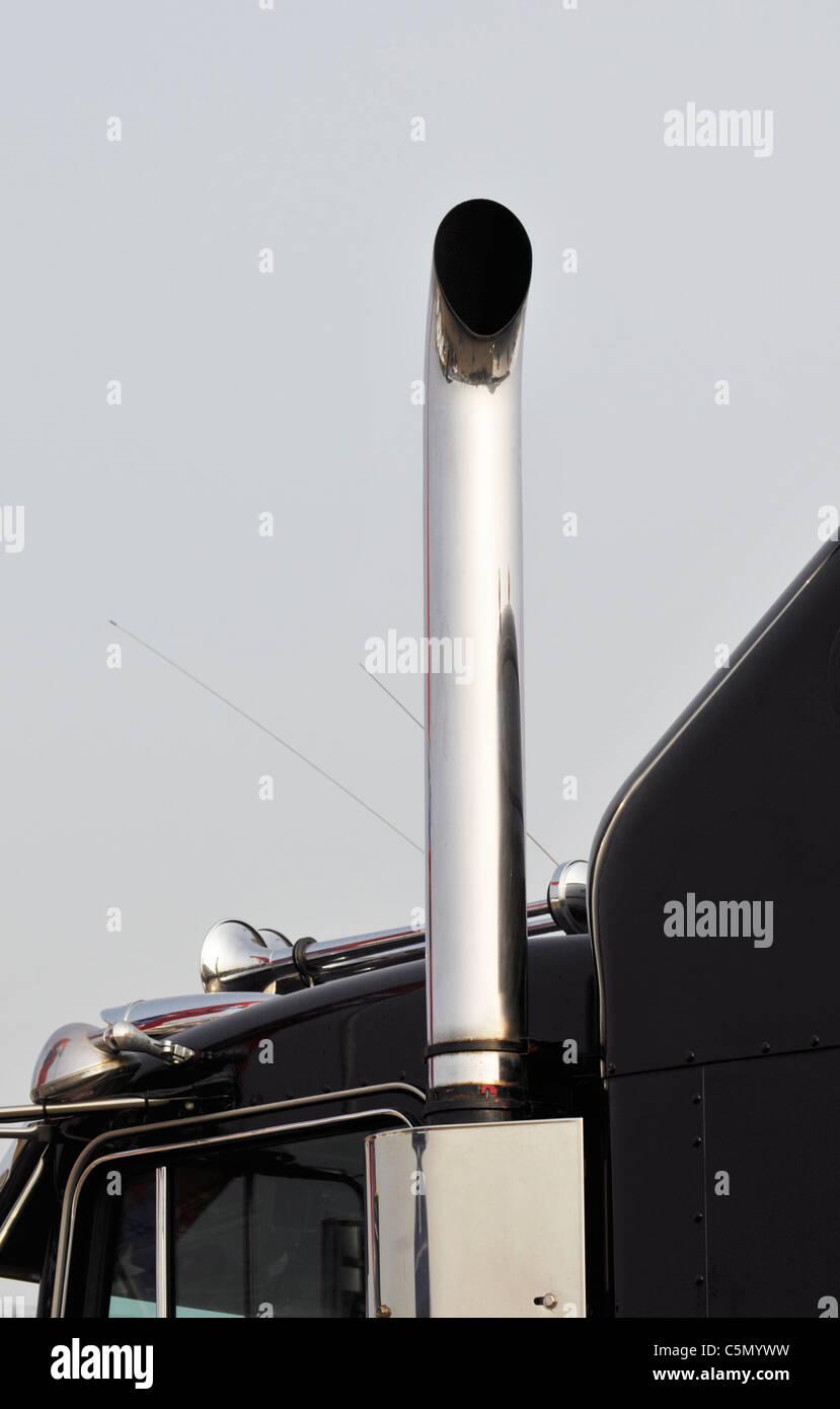 https www alamy com stock photo truck exhaust pipe 37954949 html