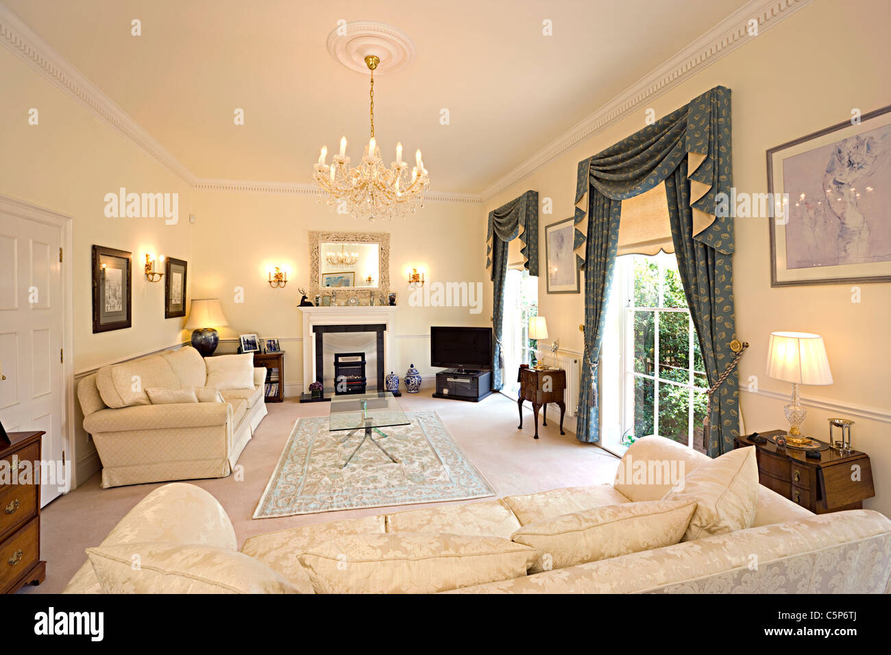 traditional english living room design contemporary formal ideas interior of a sitting stock photo 37982354