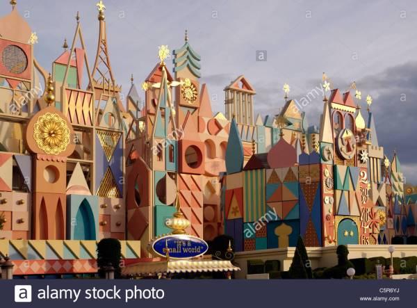 "Glockenspiel Clock Of ""' Small World"" Attraction In"