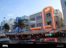 Colony And Boulevard Hotels Ocean Drive Miami South