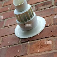 Kitchen Exhaust Fans Summer Design Combi Boiler Vent On The Outside Wall Of A House Uk Stock ...