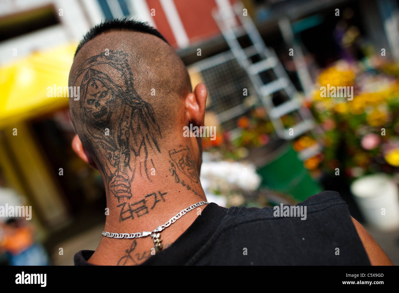 La Santa Muerte Tattoo White Plains