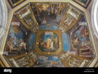 Ceiling painting, Vatican Museum Stock Photo, Royalty Free ...