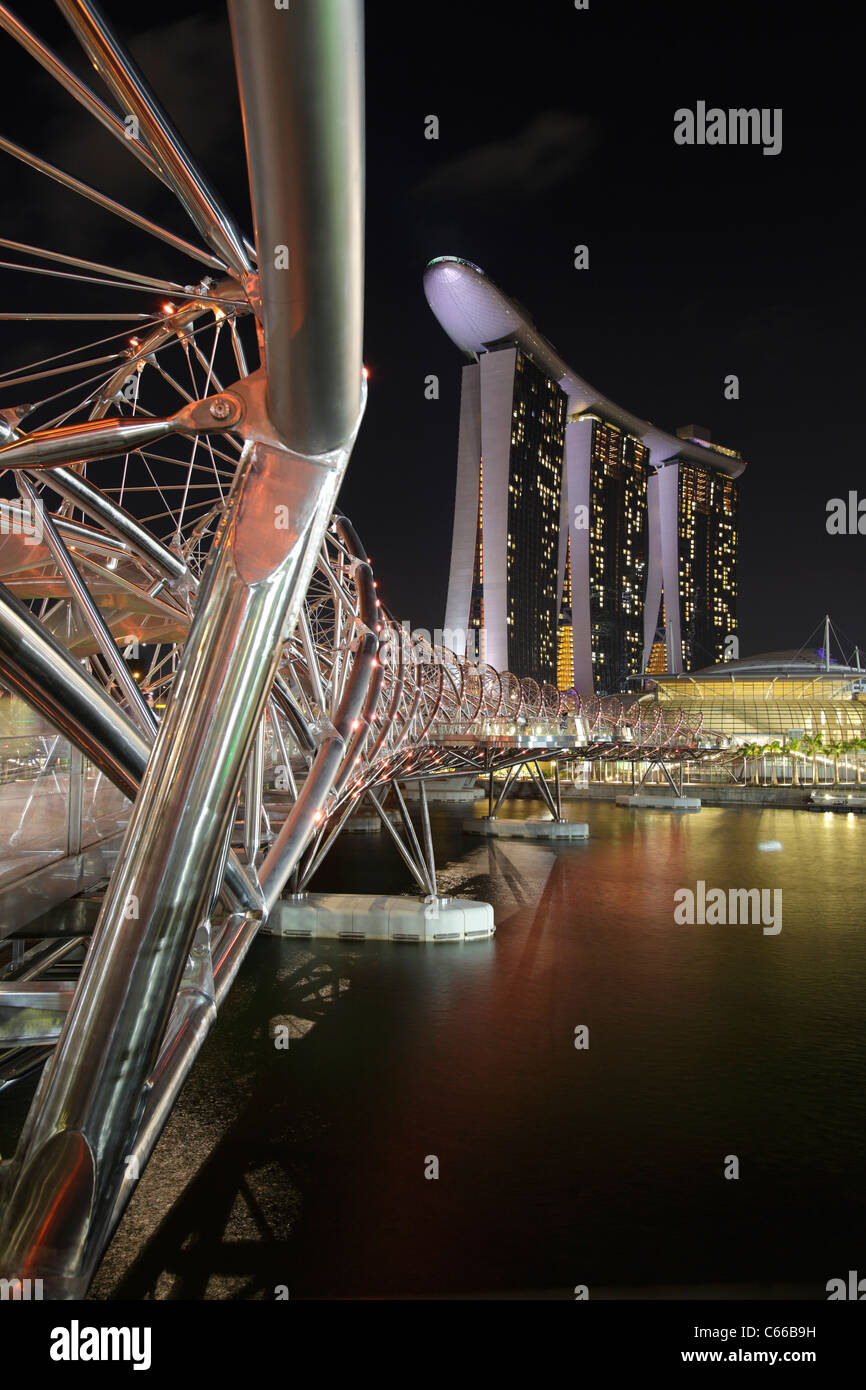 Tower Bridge Helix Glitch : tower, bridge, helix, glitch, Helix, Bridge, Construction, Resolution, Stock, Photography, Images, Alamy