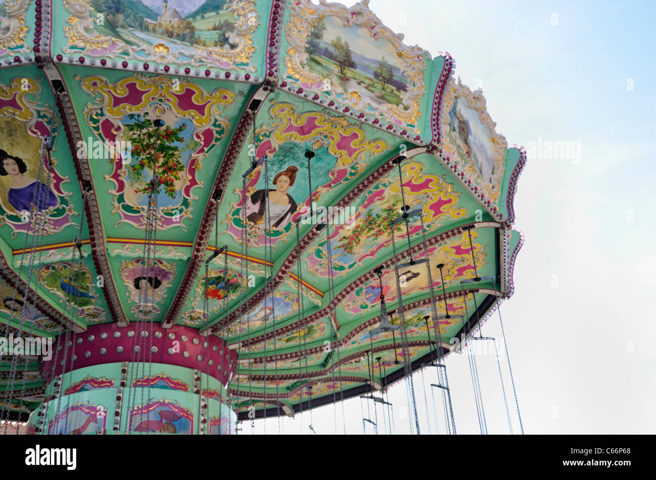 chair swing vienna plywood dining carousel stock photos and images