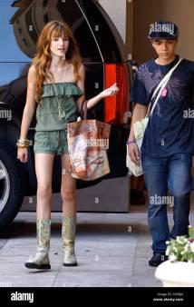 Bella Thorne Celebrities Leaving Suite Event