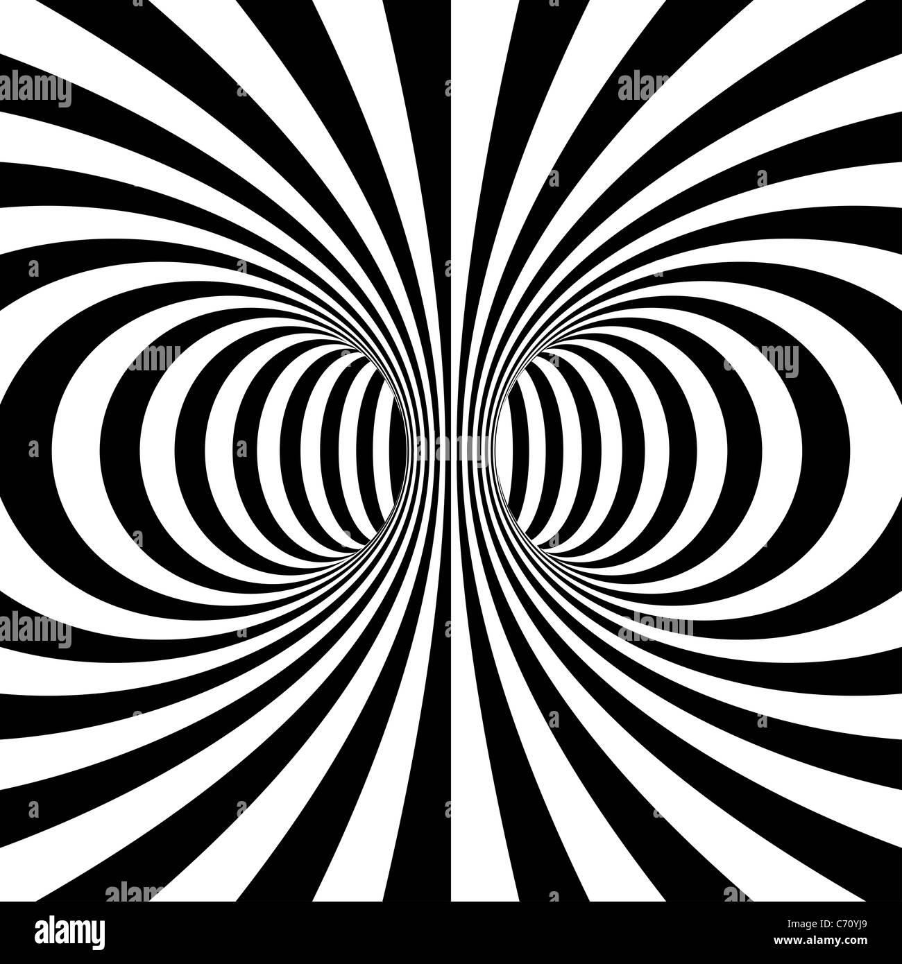 3d trance optical illusion